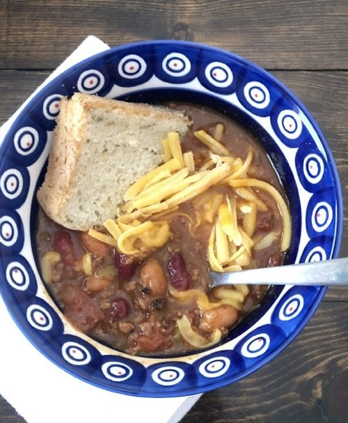 This wonderful Chili will give you all of the comfort and warmth that you are looking for and in half the time. Thanks to the wonderful Electric Pressure Cooker!! #chili #instantpotchili #electricPressurecookerchili
