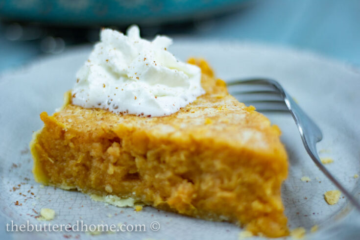 Sweet Potato Pie from scratch is so easy and even more delicious. Made from simple ingredients, nothing artificial, this pie will make you dessert famous. Top it off with homemade whipped cream and you will be in pie heaven. #sweetpotatopie #sweetpotatoes #pie